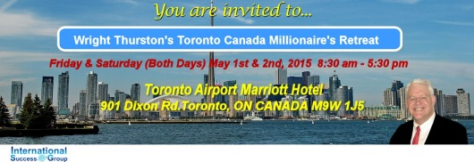 International Success Group   Wright Thurston Events